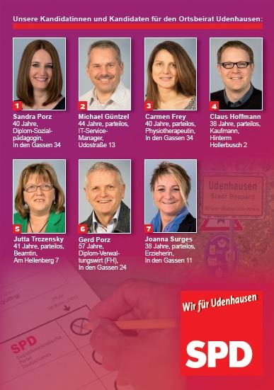 Kandidaten Udenhausen